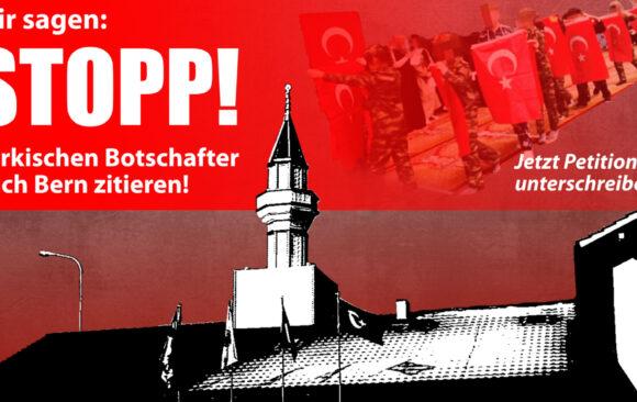 «Schluss mit Erdogan-Einmischung»: Egerkinger Komitee reicht Petition ein