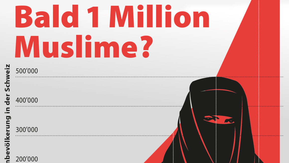 Inseratekampagne «Bald 1 Million Muslime?»