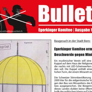Bulletin des Egerkinger Komitees (Juli 2019)