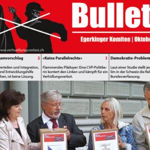 Bulletin des Egerkinger Komitees (Oktober 2020)